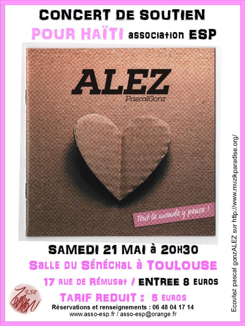 Affiche concert du 21 mai