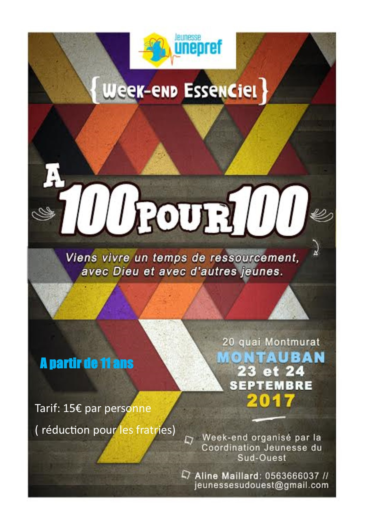 Affiche essenciel sud ouest septembre 17